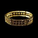 Elegance by Carbonneau B-918-Gold Sparkling Gold Topaz Bracelet B 918