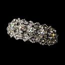 Elegance by Carbonneau Barrette-8336-Silver-AB Rhodium Silver w/ AB & Clear Barrette 8336