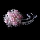 Elegance by Carbonneau bq-119-pink Fabric Floral Pink Bouquet BQ 119 Pink