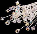Elegance by Carbonneau BQ-205 Swarovski Crystal AB Irridescent Bouquet Jewels BQ 205