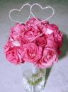 Elegance by Carbonneau BQ-221-Heart-Pick Crystal Heart Bouquet Jewelry BQ-221-Heart Pick