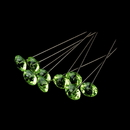 Elegance by Carbonneau BQ-270-Green Bouquet Jewelry 270 Peridot Green Crystals (100 Per Box)