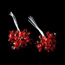 Elegance by Carbonneau BQ-284-Red Red Crystal Flower Bouquet Jewels BQ 284