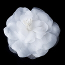 Elegance by Carbonneau BQ-4909-White BQ 4909 White Flower Accessory