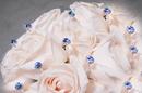 Elegance by Carbonneau BQ-Button-LtBlue-Small Lt Blue Crystal Pave Button Bouquet Jewels