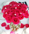 Elegance by Carbonneau BQ-Heart-Pave Bouquet Crystal Hearts for adding Glamour to Centerpieces