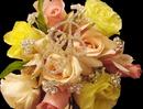 Elegance by Carbonneau BQ-Letter_3-Sets-of-BQSwirls Single Crystal Bouquet Letter & 3 Bouquet Crystal Swirls (Set of 6 stems)