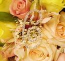 Elegance by Carbonneau BQ-Letter-C Bouquet Letters