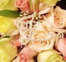 Elegance by Carbonneau BQ-Letter-Z Bouquet Jewelry