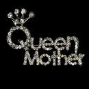 Elegance by Carbonneau Brooch-30112-S-Clear Silver Queen Mother Rhinestone Brooch 30112
