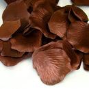 Elegance by Carbonneau Brown-rose-petals Brown Rose Petals (100 Count) #120