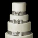 Elegance by Carbonneau Cake-Brooch-30020 Decorative Silver Clear Rhinestone Faith Cross Brooch 30020