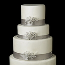 Elegance by Carbonneau Cake-Comb-7811 Decorative Swarovski Crystal & Rhinestone Flower Comb 7811