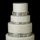 Elegance by Carbonneau Cake-HP-8453 Decorative Freshwater Pearl & Austrian Crystal Vine HP 8453