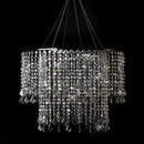 Elegance by Carbonneau Chandelier-11-AB Multi Diamond Cut Beaded Crystal Chandelier 11 AB