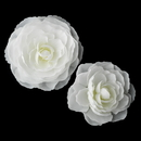 Elegance by Carbonneau Clip-404 Elegant Bridal Hair Clip Pair - Clip 404 with Brooch Pin