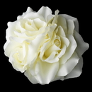 Elegance by Carbonneau Clip-419-Cream Garden Rose Cluster Flower Hair Clip 419 Cream, Ivory or White