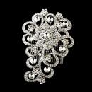 Elegance by Carbonneau Comb-402-Antique-Silver Antique Silver Comb 402