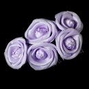 Elegance by Carbonneau Comb-4647-Lilac Charming Lilac Flower Bridal Hair Comb 4647