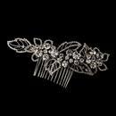 Elegance by Carbonneau Comb-593-Antique-Silver Antique Silver Comb 593
