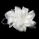 Elegance by Carbonneau Comb-9645 * Intricate Bridal Hair Comb with Laces of Crystals 9645
