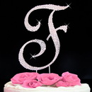 Elegance by Carbonneau completelycoveredf Completely Covered ~ Swarovski Crystal Wedding Cake Topper