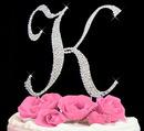 Elegance by Carbonneau completelycoveredk Completely Covered ~ Swarovski Crystal Wedding Cake Topper