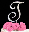 Elegance by Carbonneau completelycoveredt Completely Covered ~ Swarovski Crystal Wedding Cake Topper