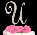 Elegance by Carbonneau completelycoveredu Completely Covered ~ Swarovski Crystal Wedding Cake Topper
