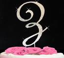 Elegance by Carbonneau completelycoveredz Completely Covered ~ Swarovski Crystal Wedding Cake Topper
