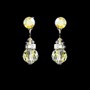 Elegance by Carbonneau E-200-AB AB Swarovski Crystal Bridal Earrings E 200