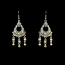 Elegance by Carbonneau E-20371-Silver-AB Earring 20371 Silver AB