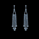 Elegance by Carbonneau E-20426-Light-Blue Earring 20426 Light Blue