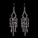 Elegance by Carbonneau E-240-Lt-Amethyst Light Amethyst Swarovski Crystal Earrings E 240