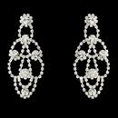 Elegance by Carbonneau E-24127 Chandelier Earring E 24127