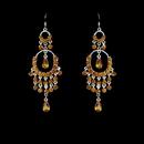 Elegance by Carbonneau E-801-Orange Earring 801 Orange