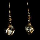 Elegance by Carbonneau E-8124-Gold-Light-Brown Earring 8124 Gold Light brown