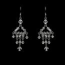 Elegance by Carbonneau E-8266-Silver Earring 8266 Silver