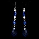 Elegance by Carbonneau E-8354-Blue Earring 8354 Blue