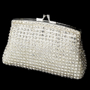 Elegance by Carbonneau EB-8 Elegant Crystal Rhinestone Mesh Evening Bag