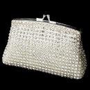 Elegance by Carbonneau EB-8 Elegant Crystal Rhinestone Mesh Evening Bag
