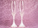 Elegance by Carbonneau FL-457-Princess Pink Princess Wedding Toasting Flutes FL 457