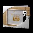 Elegance by Carbonneau GB-Tux-439 Splendid Black Tux Photo Guest Book 439
