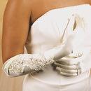 Elegance by Carbonneau GL-1038-12A Glamourous Bridal Glove GL1038-12A