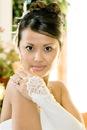 Elegance by Carbonneau GL--211V-8E Formal Below The Elbow Fingerless Bridal Gloves GL 211