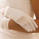 Elegance by Carbonneau GL-80038-2W Formal or Bridal Gloves Style GL80038-2W