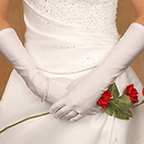 Elegance by Carbonneau GL-ME Formal or Bridal Gloves Style GLME