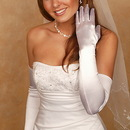 Elegance by Carbonneau GL-SS Formal or Bridal Gloves Style GLSS