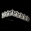 Elegance by Carbonneau HP-10575-S-Clear Bridal Tiara HP 10575