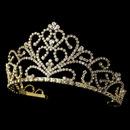 Elegance by Carbonneau HP-1620-G Golden Bridal Tiara HP 1620